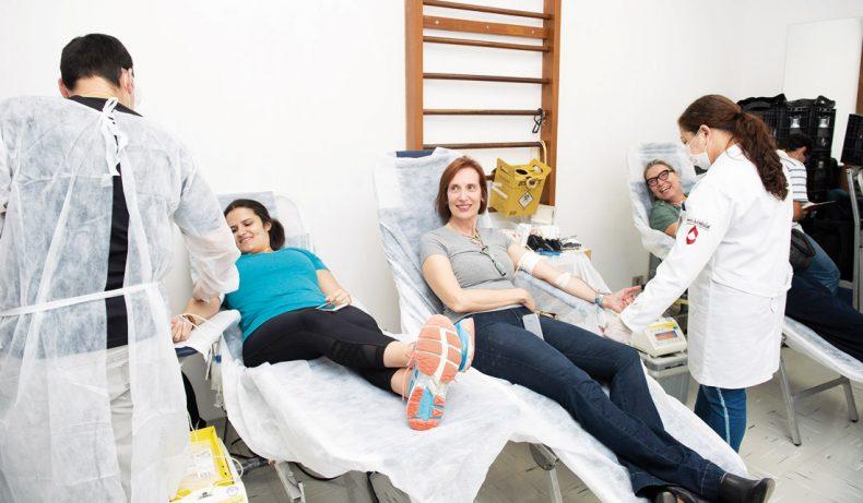 Clube Paulistano - Doação de Sangue
