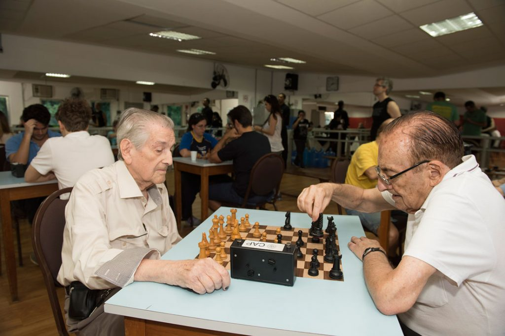 Clube Paulistano - Curso Xadrez Para 3ª Idade