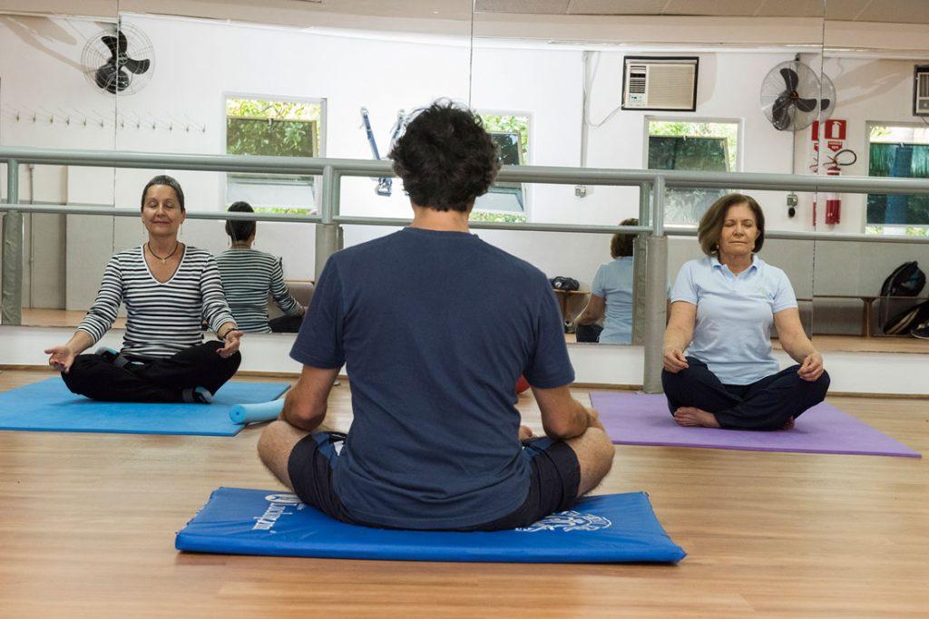 Clube Paulistano - Curso Ginástica meditativa