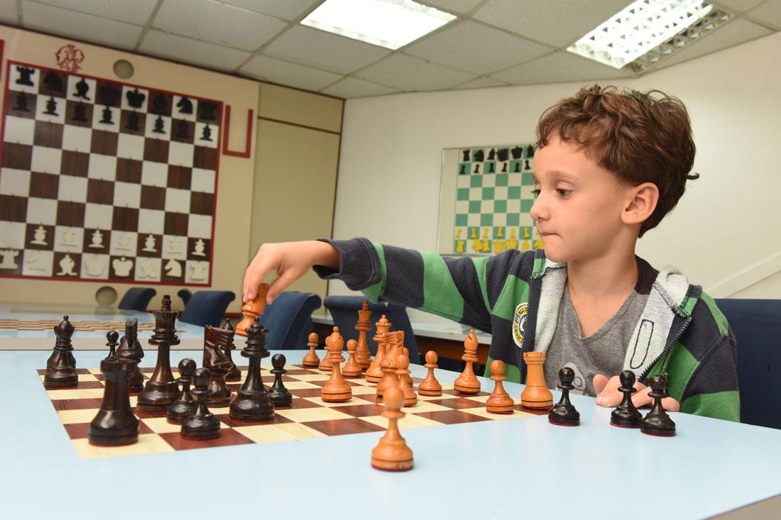 Clube Paulistano - Curso xadrez