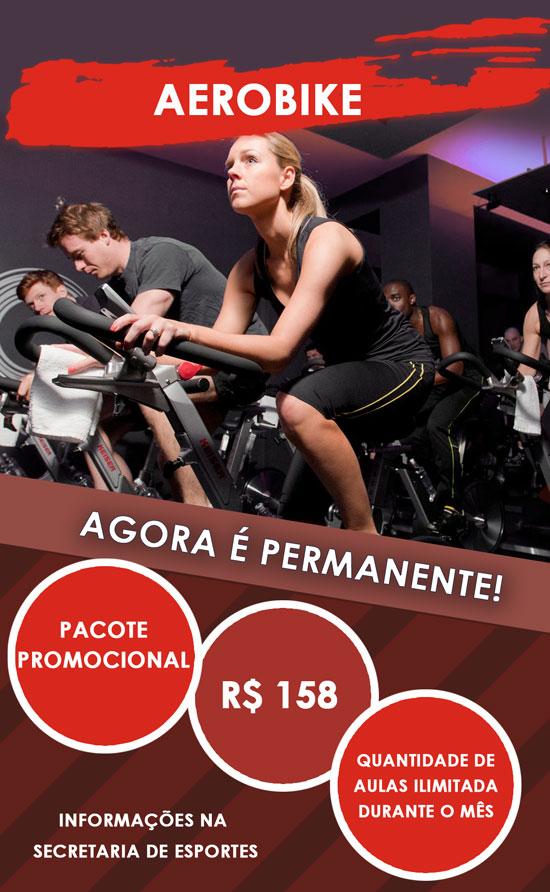 Clube Paulistano - Pacote Promocional Aerobike