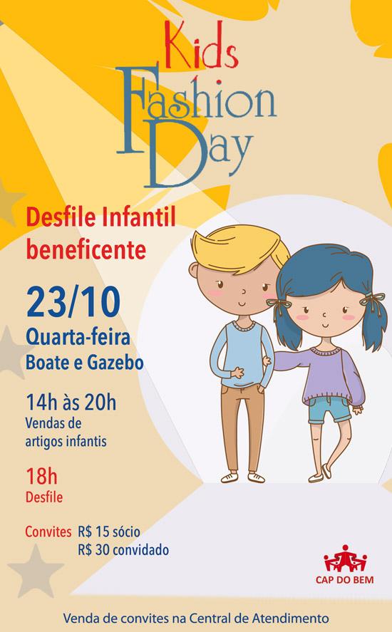 Clube Paulistano - Desfile-Kids-Beneficiente