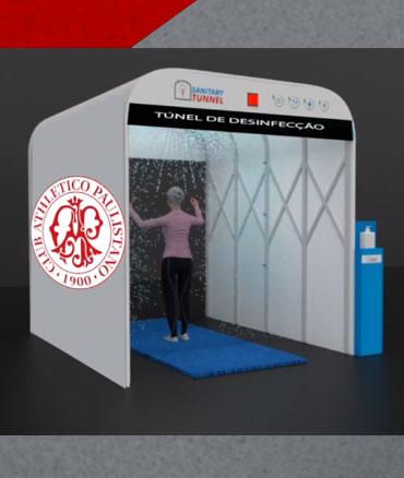 Clube Paulistano - Túneis Higienização